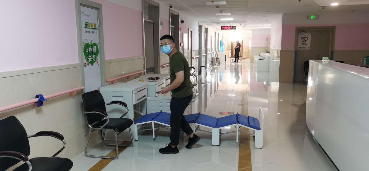 医院陪护床投放案例