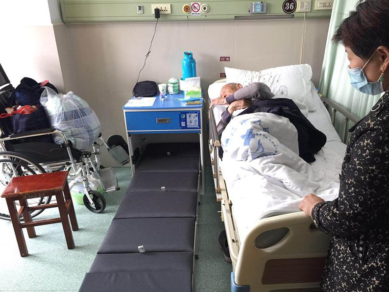 齐齐哈尔第一人民医院陪护床案例