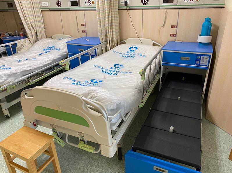 靖江市人民医院陪护床案例