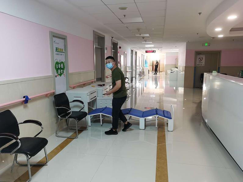 齐齐哈尔市第一人民医院陪护床案例