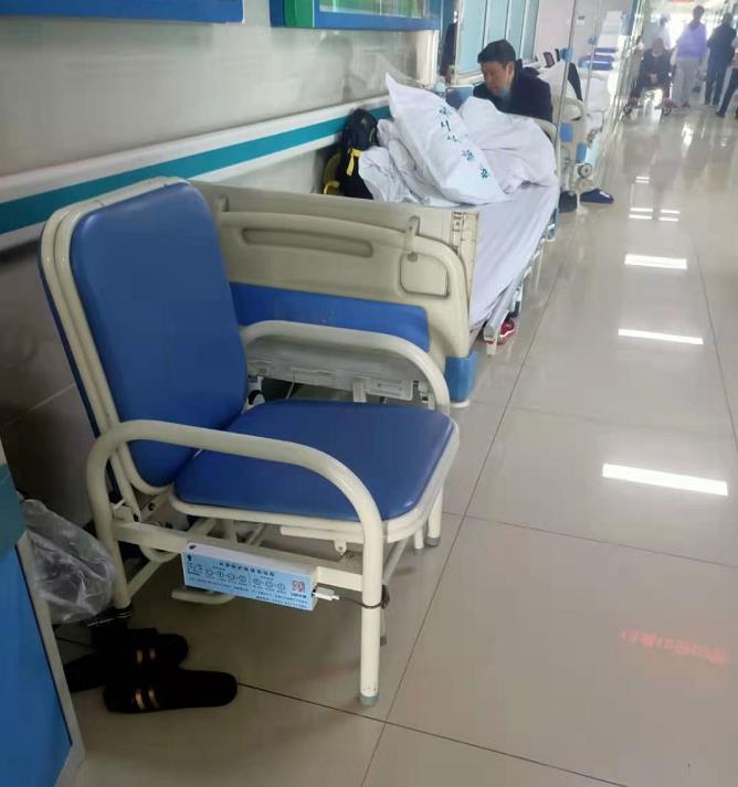 安医二附院陪护椅投放案例